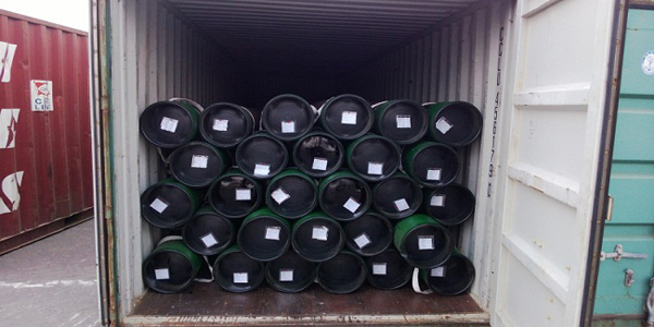 API 5CT oil well casing delivery