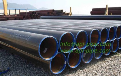 the production technology of API steel pipes